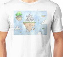 Floating Castle Unisex T-Shirt