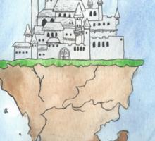 Floating Castle Sticker