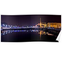Canning Dock panorama Poster
