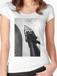 London Docklands Women's Fitted Scoop T-Shirt