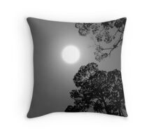 Midnight in the bush Throw Pillow