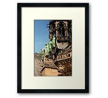 Among The Gargoyles Framed Print