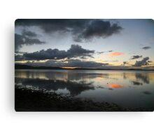 Wallis Lake mirror Canvas Print