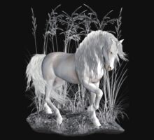Ivory .. a white stallion T-Shirt