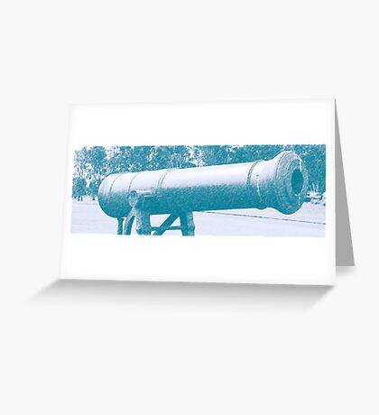 Old canon Greeting Card