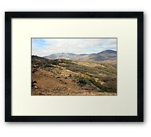 Rural county Kerry Framed Print