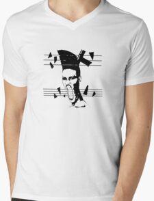 Slave to the Rhythm Mens V-Neck T-Shirt