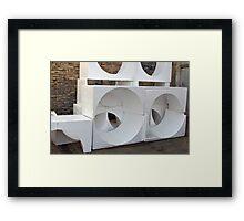Styrofoam Art Framed Print