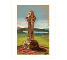 The Celtic cross Art Print