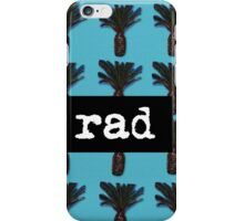 Rad Pineapple Tee and Accessories  iPhone Case/Skin