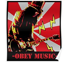 Obey slash Poster