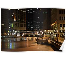 Milwaukee in the Winter Poster