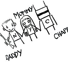 Chappie with Mommy and Daddy by esthersancrysis