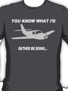 Airplane Graphic Funny Geek Nerd T-Shirt