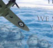 The Battle of Britain 75 Years Sticker