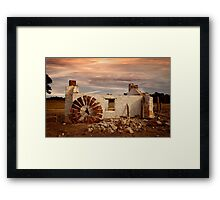 Perry's Cottage - Western Australia Framed Print