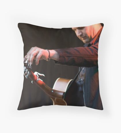 Tuning Throw Pillow