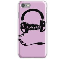 DRUM AND BASS iPhone Case/Skin