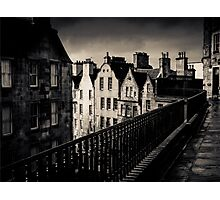 Black And White Edinburgh Photographic Print