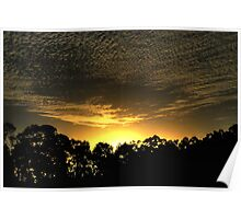 Sunset without the Fuss. Poster