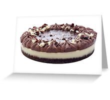 Chocolate Cheesecake Greeting Card