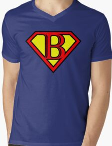 Super B Mens V-Neck T-Shirt