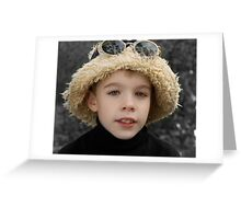 Hat Greeting Card