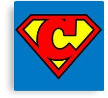 Super C Canvas Print