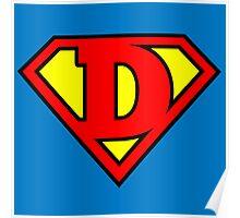Super D Poster