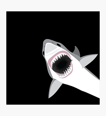 Great White Shark Attack Photographic Print
