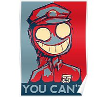 You Can't Poster