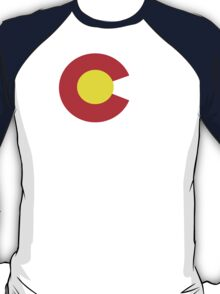 Colorado flag Funny Geek Nerd T-Shirt