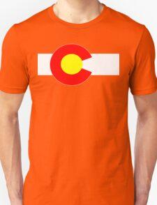 Colorado flag Funny Geek Nerd T-Shirt
