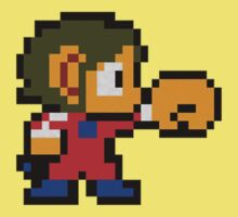 Alex Kidd by HalfJim