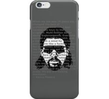 Death is for Pussies (Image.Typo.Tee) iPhone Case/Skin
