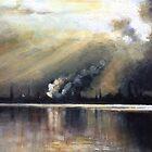 Before the storm (Cherry lake- Altona) by Ivana Pinaffo
