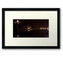 Turin - Lungo Po by night Framed Print