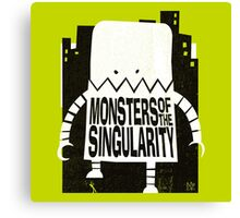 Robot Monster Canvas Print