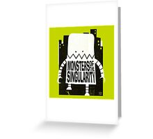 Robot Monster Greeting Card