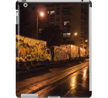 Tagged trucks iPad Case/Skin