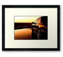 HDR WRX Framed Print
