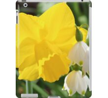 Daffodil & Snowbells iPad Case/Skin