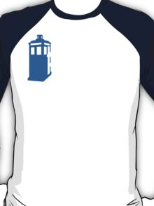 Abbey Road Tardis Doctor Who In fluenced  T-Shirt