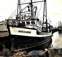 Black Fish Boat by terrebo