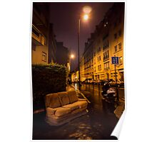 Couch in the street Poster