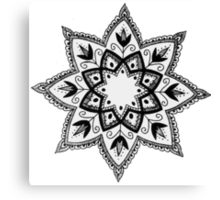 Taissa - Mandala Design Canvas Print