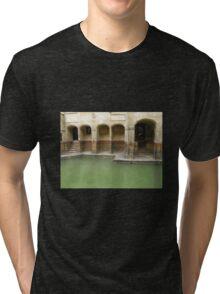 ROMAN BATHS Tri-blend T-Shirt