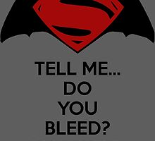 Batman v Superman - Do You Bleed by AvatarSkyBison