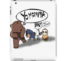 Yo momma iPad Case/Skin
