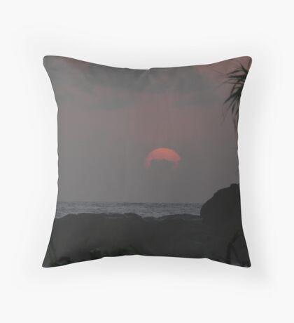 Sunset 2 at Heritance Hotel, Ahungalla, Sri Lanka Throw Pillow